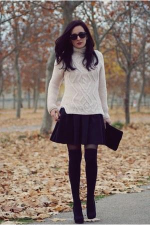 black frontroshopcom skirt