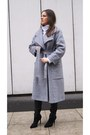 Heather-gray-diy-coat