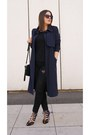 Black-parfois-bag-navy-zara-heels