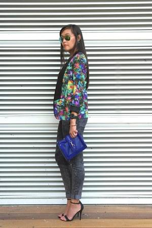 Macys blazer - H&M jeans - Forever 21 shirt