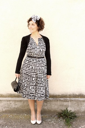 black Marella dress