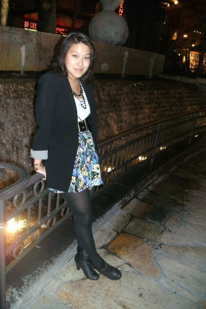 Zara shirt - Nordstrom Rack belt - Forever21 skirt - Forever21 bracelet - Foreve