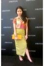 Black-vincci-shoes-carrot-orange-bag-chartreuse-skirt-topshop-top