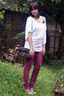 White-forever-21-shirt-purple-forever-21-jeans-blue-rubi-shoes-gray-zara-p