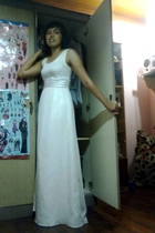 Prom Dress... Way Back Then...