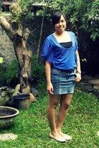 Magnolia by Orange blouse - DIY skirt - Marie Claire shoes