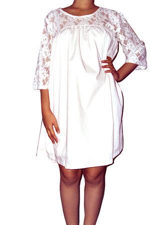 white Kampoeng Bali dress