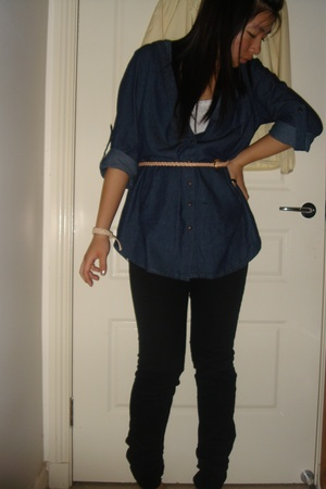 tightrope shirt - Zara jeans - Sportsgirl blazer - Miss Shop top