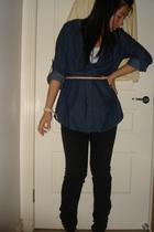 tightrope shirt - Zara jeans - Sportsgirl blazer - Miss Shop top
