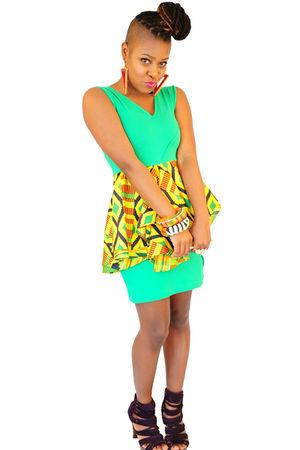 green naKiMuli dress