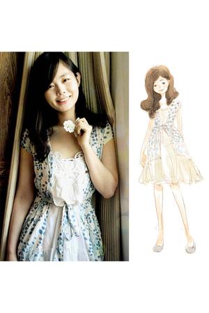 shirt - Zara dress