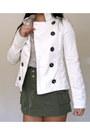 Ivory-forever-21-jacket-floral-print-vintage-shirt-army-green-h-m-skirt