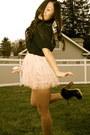 Navy-chiffon-forever-21-blouse-light-pink-forever-21-skirt