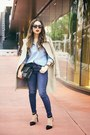 Black-nine-west-shoes-navy-gap-jeans-light-blue-gap-shirt