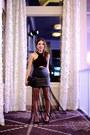 Black-asos-skirt-black-furor-moda-top-black-manolo-blahnik-heels