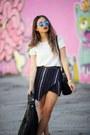 Black-ankle-boots-h-m-boots-blue-mirror-zerouv-sunglasses