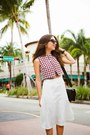 Black-nine-west-shoes-ruby-red-shoppiin-top-white-dailylook-skirt