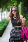 Black-dailylook-shoes-hot-pink-dailylook-bag-black-furor-moda-top