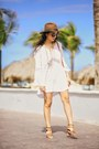 Brown-shoedazzle-shoes-white-lspace-dress-brown-revolve-clothing-hat