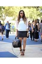 ivory melao shirt - black Danielle Nicole bag