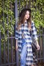Blue-boyfriend-ag-jeans-jeans-black-forever-21-hat-navy-plaid-shoppiin-shirt