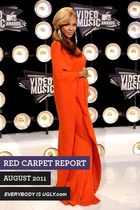 RED CARPET FASHION: AUGUST 2011