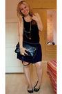 Black-miss-selfridge-top-purple-bik-bok-skirt-blue-thrifted-purse-black-li