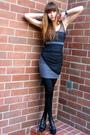 Gray-stylestalker-dress-black-via-spiga-shoes