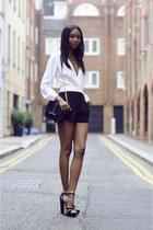 Zara bag - Motel Rocks romper - Miu Miu heels