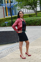 faux leather Only jacket