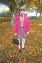 handmade necklace - Primark shoes - Newlook hat - H&M jacket