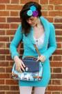 Sky-blue-oasap-bag-aquamarine-headband-natbeesfashion-accessories