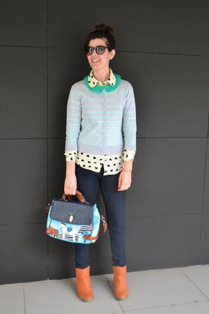 aquamarine crochet collar Natbeesfashion accessories