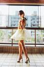 Silver-santa-lolla-shoes-tawny-zara-shirt-cream-renner-skirt