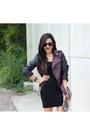 H-m-jacket-h-m-dress-charlotte-russe-sunglasses-charlotte-russe-heels