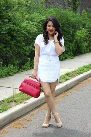 handbag F&W Style bag - lace Sugar Lips skirt - ankle strap Love Culture heels