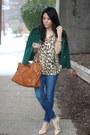 Emerald-vintage-coat-dittos-jeans-leopard-print-dynamite-top