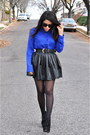 Blu-pepper-top-steve-madden-boots-forever21-skirt