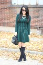 Shoedazzle-boots-torn-by-ronny-kobo-dress