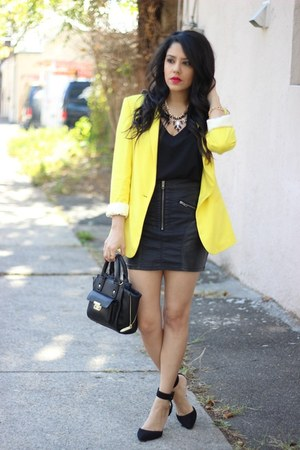 furor moda shirt - Zara blazer - mini satchel Phillip Lim for Target bag