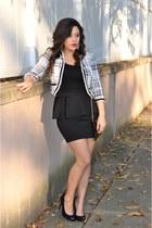 Mandee blazer - H&M skirt - Bakers heels