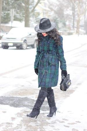 Tommy Hilfiger coat - Shoedazzle boots - H&M hat