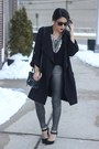 Trench-coat-tobi-coat-metallic-hue-leggings-prima-donna-heels