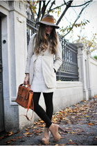 jan pul gaultier bag - Borsalino hat - Zara jacket