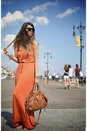 carrot orange bought in NY dress