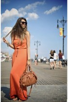 carrot orange bought in NY dress