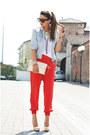 Light-blue-my-creation-jacket-sarenza-bag-red-disco-pony-panties