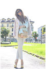 Light-pink-h-m-jacket-light-blue-zara-sweater-nude-miu-miu-bag