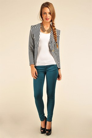 necessary clothing blazer - necessary clothing jeans - necessary clothing top