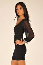 Black-necessary-clothing-dress